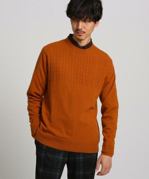 TAKEO KIKUCHI / タケオキクチ ニット・セーター | フルカシ クルーネック ニット | 詳細4