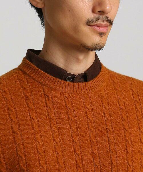 TAKEO KIKUCHI / タケオキクチ ニット・セーター | フルカシ クルーネック ニット | 詳細7