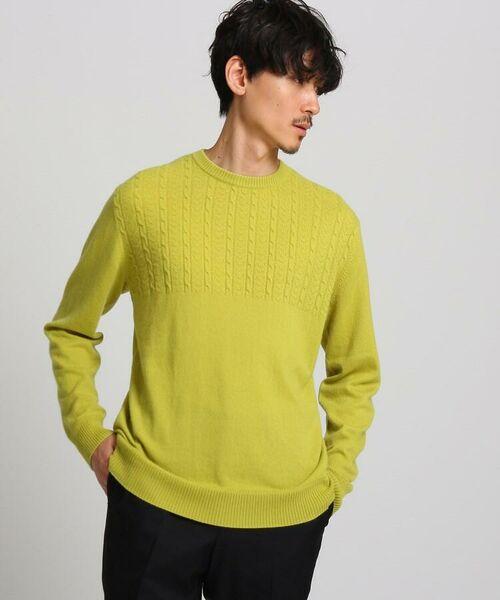 TAKEO KIKUCHI / タケオキクチ ニット・セーター | フルカシ クルーネック ニット | 詳細9