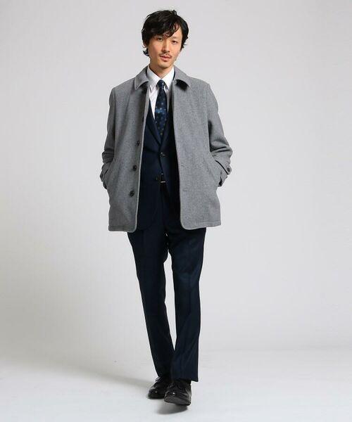 TAKEO KIKUCHI / タケオキクチ ステンカラーコート | メルトンカーコート | 詳細2