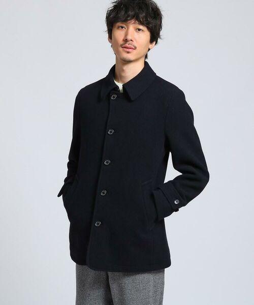 TAKEO KIKUCHI / タケオキクチ ステンカラーコート | メルトンカーコート | 詳細3