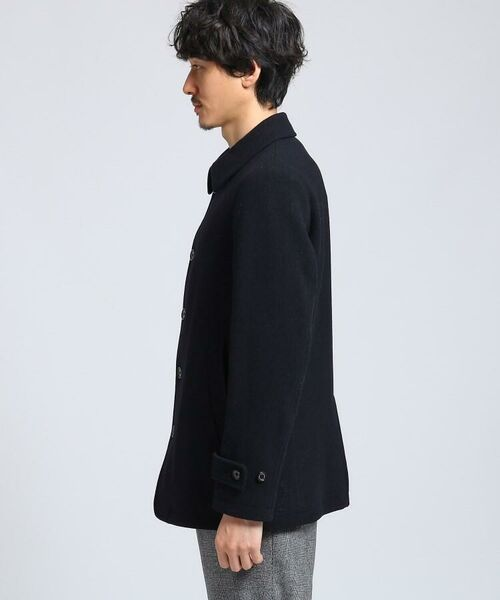 TAKEO KIKUCHI / タケオキクチ ステンカラーコート | メルトンカーコート | 詳細4