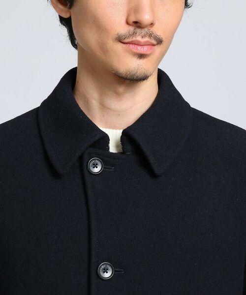 TAKEO KIKUCHI / タケオキクチ ステンカラーコート | メルトンカーコート | 詳細6