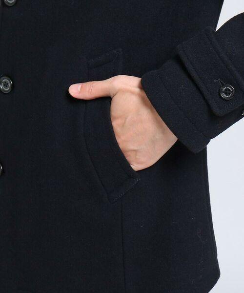 TAKEO KIKUCHI / タケオキクチ ステンカラーコート | メルトンカーコート | 詳細7