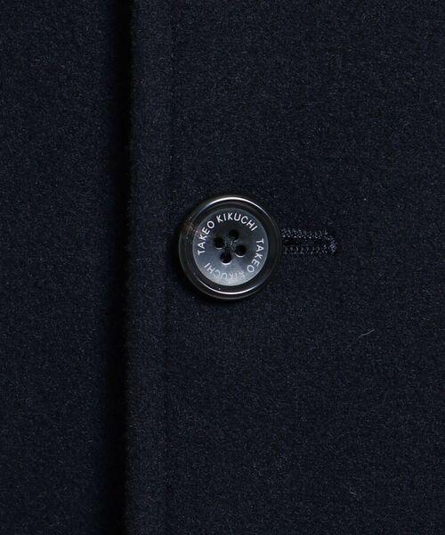 TAKEO KIKUCHI / タケオキクチ ステンカラーコート | メルトンカーコート | 詳細9