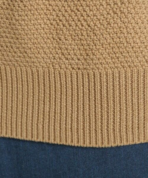 TAKEO KIKUCHI / タケオキクチ ニット・セーター | 【Sサイズ~】コットンアクリル メランジパネルボーダーニット | 詳細14