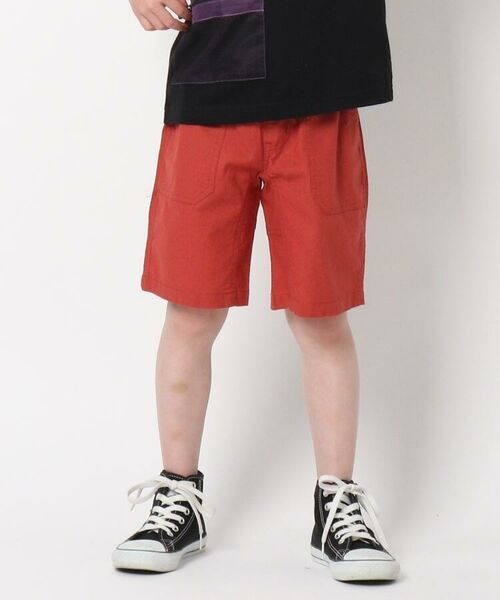 THE SHOP TK / ザ ショップ ティーケー ショート・ハーフ・半端丈パンツ | 定番カラーショートパンツ/飾りベルト付き | 詳細8