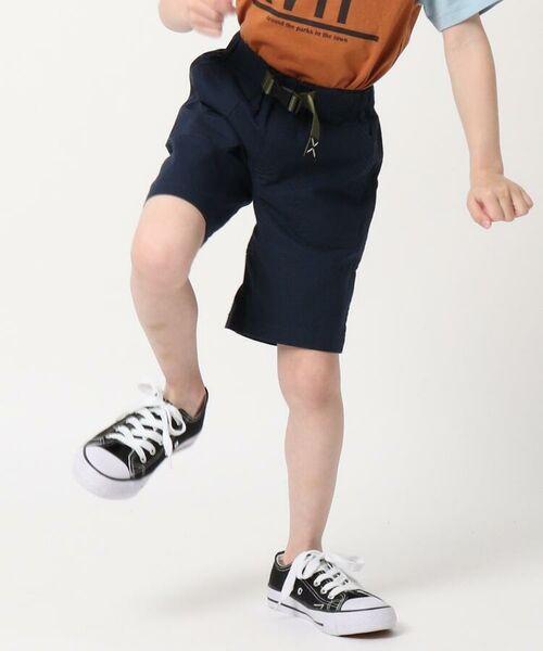 THE SHOP TK / ザ ショップ ティーケー ショート・ハーフ・半端丈パンツ | 定番カラーショートパンツ/飾りベルト付き | 詳細9