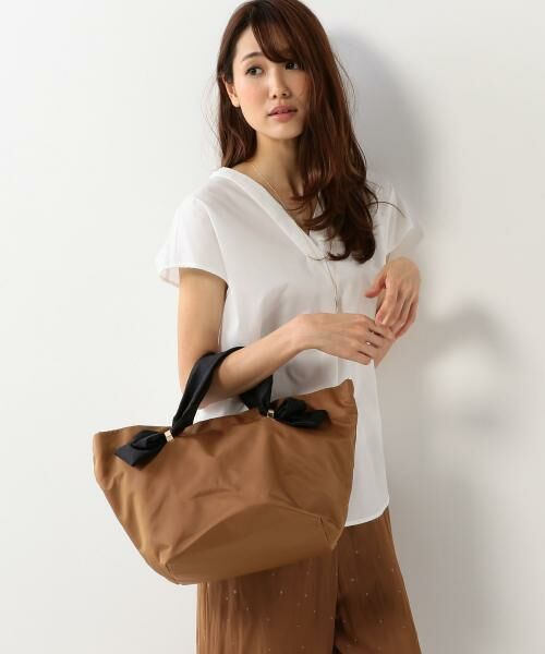 THE STATION STORE UNITED ARROWS LTD. / ザ ステーション ストア ユナイテッドアローズ トートバッグ | <Lapuis> メタルループ トートバッグ FW(MD.BROWN)