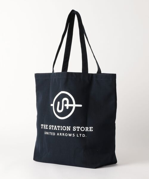 THE STATION STORE UNITED ARROWS LTD. / ザ ステーション ストア ユナイテッドアローズ トートバッグ | <ST> ロゴ トートバッグ L | 詳細1