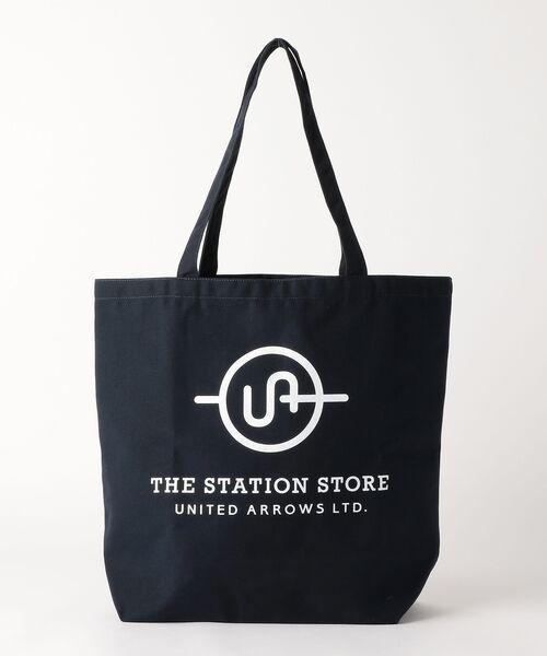THE STATION STORE UNITED ARROWS LTD. / ザ ステーション ストア ユナイテッドアローズ トートバッグ | <ST> ロゴ トートバッグ L | 詳細2