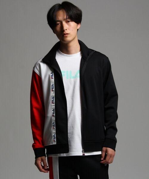 FILA for tk.TAKEO KIKUCHI トラックジャケット