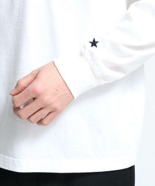 tk.TAKEO KIKUCHI / ティーケー タケオキクチ カットソー   【WEB限定】USAコットン スターポケットTシャツ(長袖)   詳細5