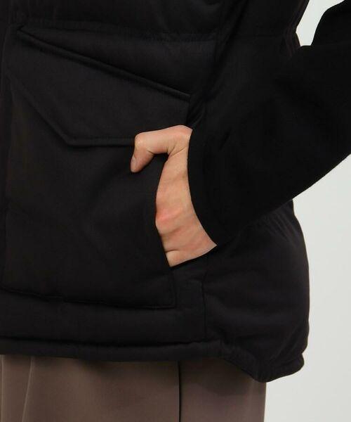 tk.TAKEO KIKUCHI / ティーケー タケオキクチ ダウンジャケット・ベスト   ポリ杢調2WAY中綿ベスト   詳細15