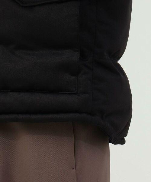 tk.TAKEO KIKUCHI / ティーケー タケオキクチ ダウンジャケット・ベスト   ポリ杢調2WAY中綿ベスト   詳細2