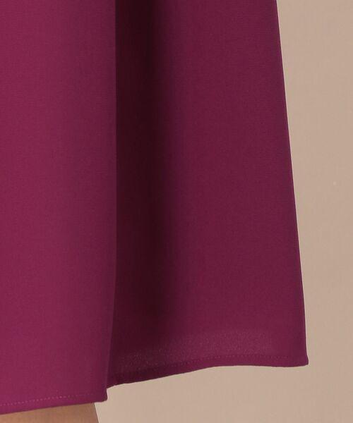 TO BE CHIC (大きいサイズ) / トゥー ビー シック (オオキイサイズ) ロング・マキシ丈スカート | 【L】【ウォッシャブル】スポンジージョーゼットスカート | 詳細12