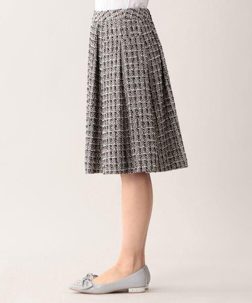 TO BE CHIC (大きいサイズ) / トゥー ビー シック (オオキイサイズ) ロング・マキシ丈スカート | 【L】ファンシーツイードスカート | 詳細5