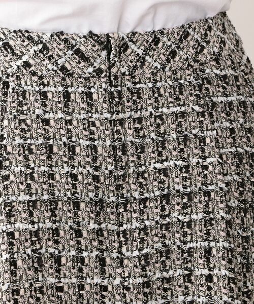 TO BE CHIC (大きいサイズ) / トゥー ビー シック (オオキイサイズ) ロング・マキシ丈スカート | 【L】ファンシーツイードスカート | 詳細10