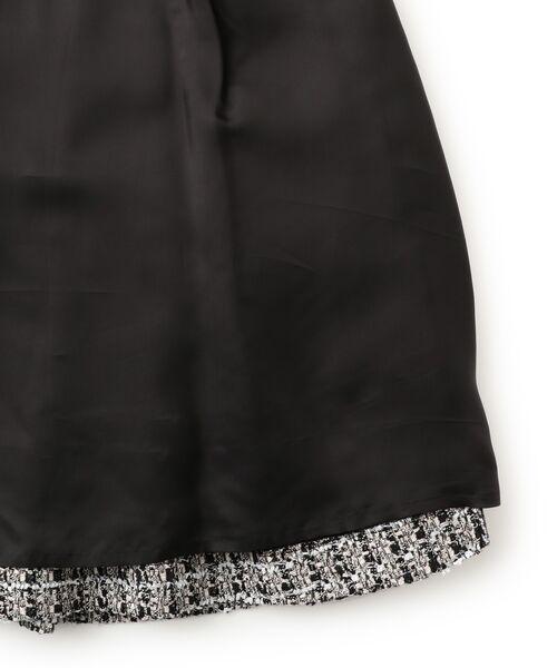 TO BE CHIC (大きいサイズ) / トゥー ビー シック (オオキイサイズ) ロング・マキシ丈スカート | 【L】ファンシーツイードスカート | 詳細12