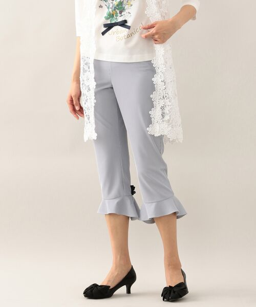 TO BE CHIC / トゥー ビー シック 服飾雑貨 | コンフォタブルレギパン(サックスブルー1)