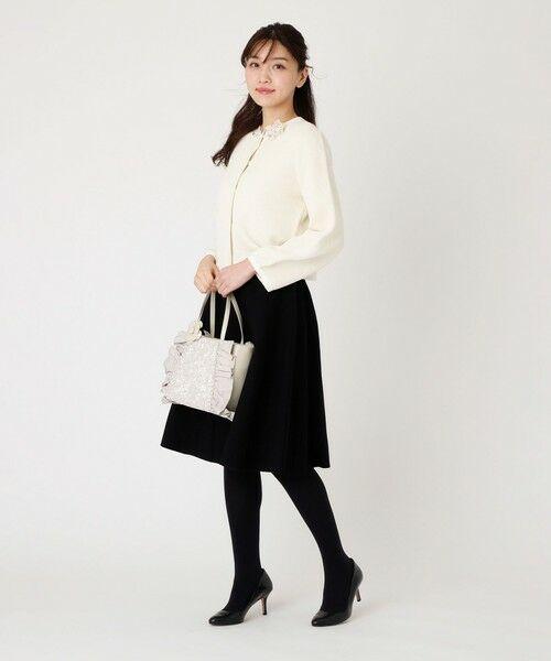 TO BE CHIC / トゥー ビー シック ロング・マキシ丈スカート   ピークスニットスカート   詳細5