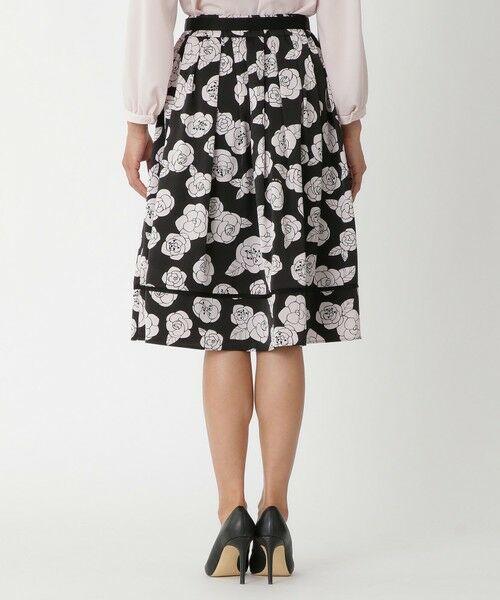 TO BE CHIC / トゥー ビー シック ロング・マキシ丈スカート | カメリアプリントスカート | 詳細7