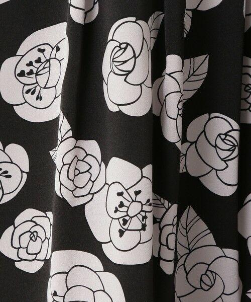 TO BE CHIC / トゥー ビー シック ロング・マキシ丈スカート | カメリアプリントスカート | 詳細11