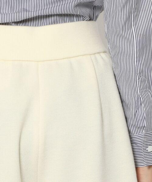 TOMORROWLAND / トゥモローランド ショート・ハーフ・半端丈パンツ | ウールミラノリブ ガウチョパンツ | 詳細5