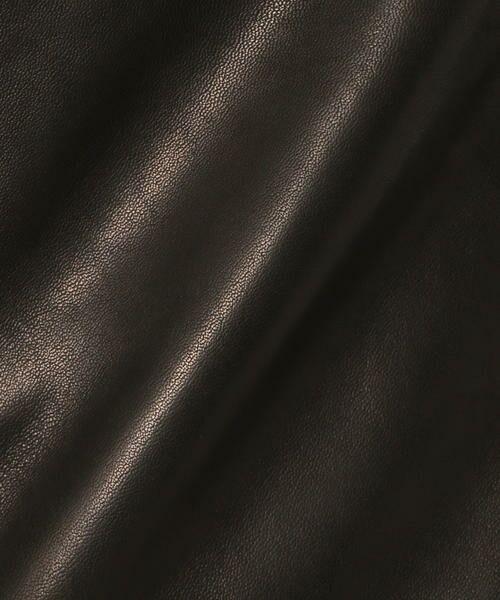TOMORROWLAND / トゥモローランド レザーブルゾン・ジャケット | ラムレザー ライダースジャケット | 詳細9