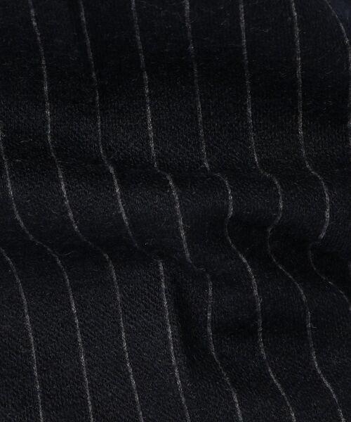 TOMORROWLAND / トゥモローランド スラックス・ドレスパンツ | ウールジャージーストライプ タックテーパードパンツ | 詳細9