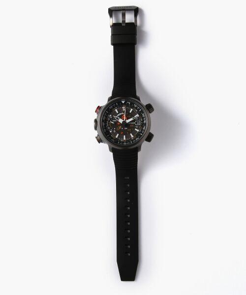 TOMORROWLAND / トゥモローランド 腕時計 | 【別注】CITIZEN PROMASTER×TOMORROWLAND Eco-Drive ALTICHRON リストウオッチ(ブラック系)