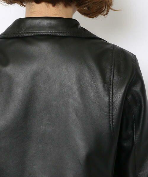 TOMORROWLAND / トゥモローランド レザーブルゾン・ジャケット | ラムレザー ライダースジャケット | 詳細5