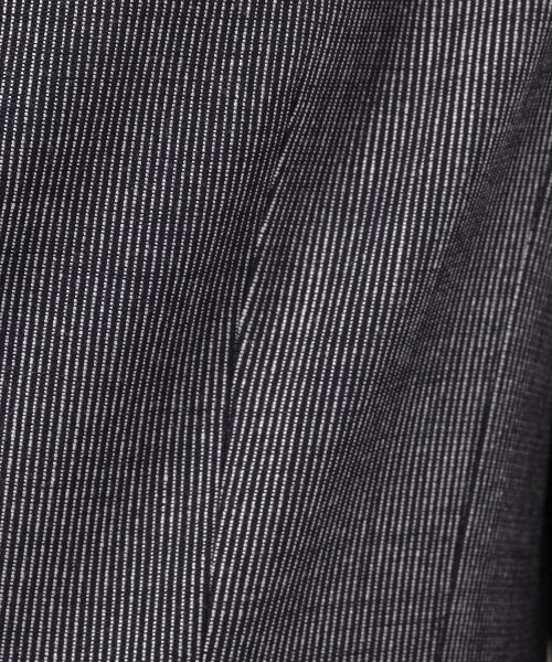 TOMORROWLAND / トゥモローランド テーラードジャケット | ウールレーヨンストライプ セミピークドジャケット | 詳細10