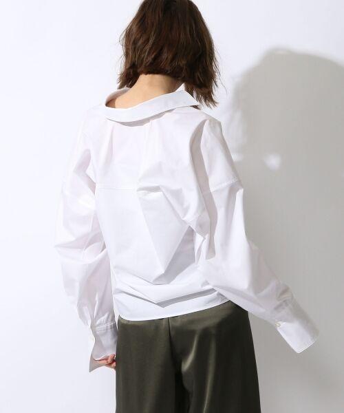 TOMORROWLAND / トゥモローランド シャツ・ブラウス | コットンポリエステルツイル ビッグシャツ | 詳細3