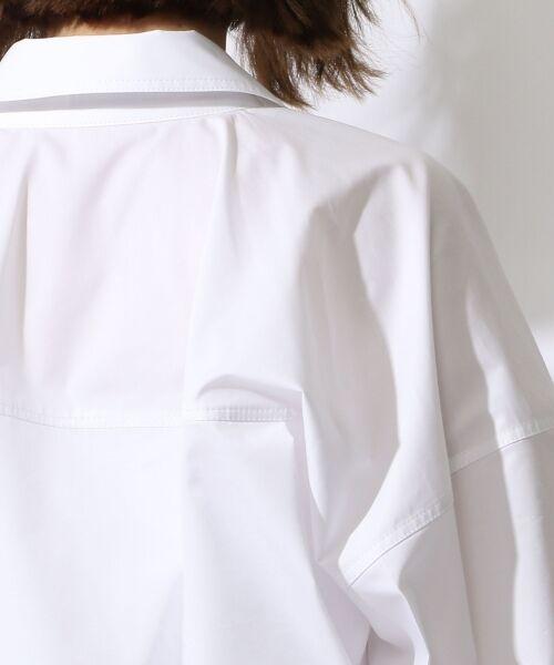 TOMORROWLAND / トゥモローランド シャツ・ブラウス | コットンポリエステルツイル ビッグシャツ | 詳細5