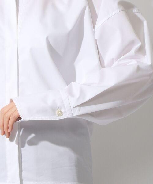 TOMORROWLAND / トゥモローランド シャツ・ブラウス | コットンポリエステルツイル ビッグシャツ | 詳細6