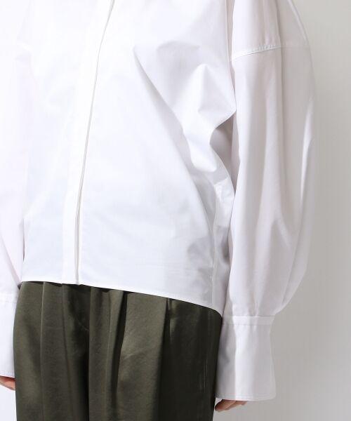 TOMORROWLAND / トゥモローランド シャツ・ブラウス | コットンポリエステルツイル ビッグシャツ | 詳細7