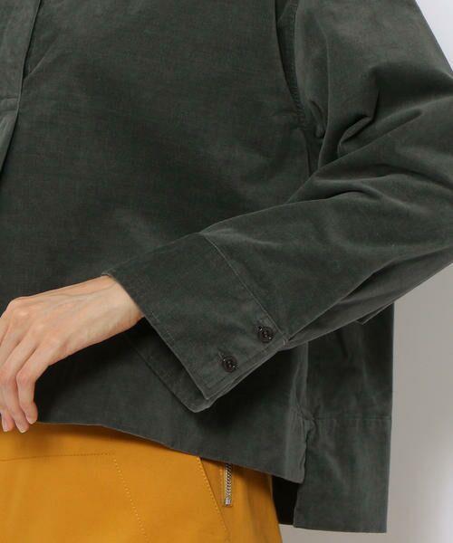 TOMORROWLAND / トゥモローランド シャツ・ブラウス | コットンストレッチコーデュロイ キーネックプルオーバー | 詳細10