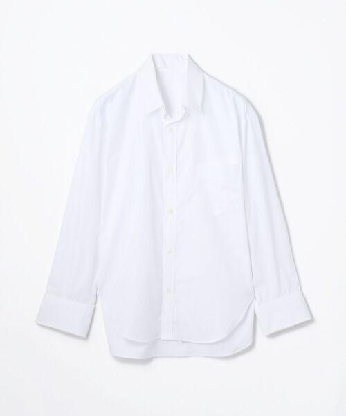 TOMORROWLAND / トゥモローランド シャツ・ブラウス | コットンブロード コクーンバックワイヤーシャツ(11 ホワイト)