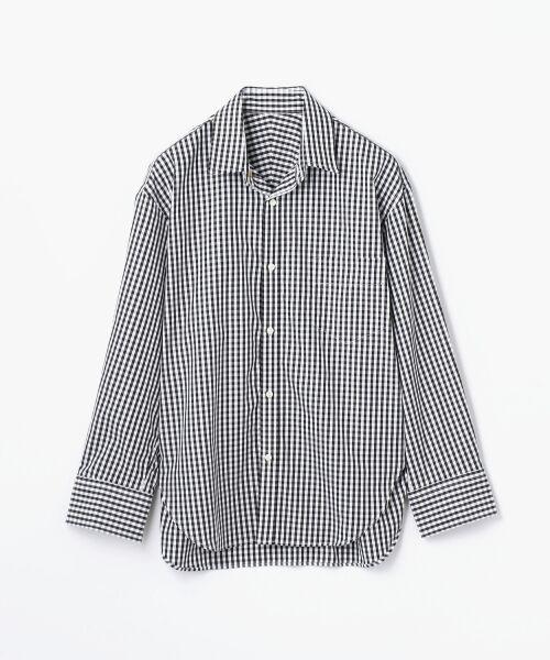 TOMORROWLAND / トゥモローランド シャツ・ブラウス | コットンブロード コクーンバックワイヤーシャツ(18 ブラック系)