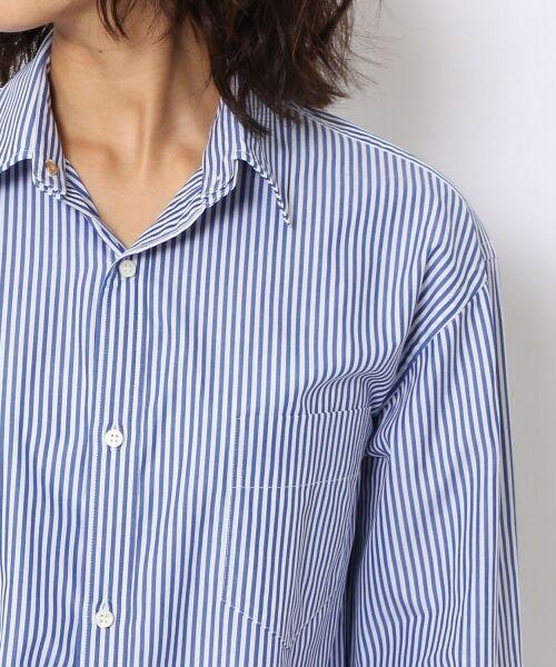 TOMORROWLAND / トゥモローランド シャツ・ブラウス | コットンブロード コクーンバックワイヤーシャツ | 詳細6