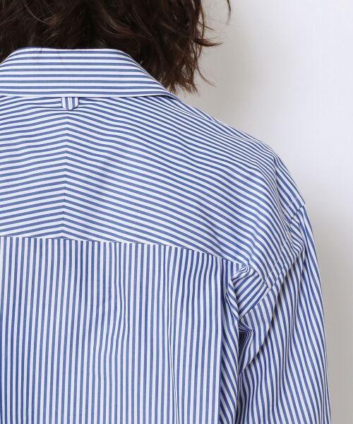 TOMORROWLAND / トゥモローランド シャツ・ブラウス | コットンブロード コクーンバックワイヤーシャツ | 詳細7