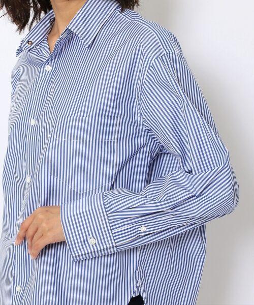TOMORROWLAND / トゥモローランド シャツ・ブラウス | コットンブロード コクーンバックワイヤーシャツ | 詳細8