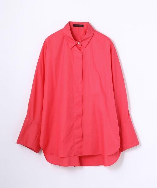 TOMORROWLAND / トゥモローランド シャツ・ブラウス | コットンタイプライター レギュラーシャツ(35 ピンク)