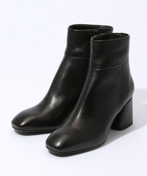 TOMORROWLAND / トゥモローランド ブーツ(ショート丈) | FABIO RUSCONI チャンキーヒールブーツ(19 ブラック)