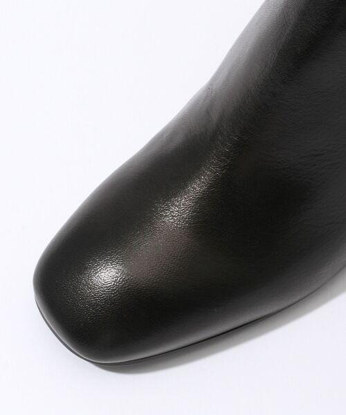 TOMORROWLAND / トゥモローランド ブーツ(ショート丈) | FABIO RUSCONI チャンキーヒールブーツ | 詳細4