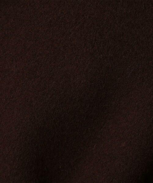 TOMORROWLAND / トゥモローランド その他アウター | プレミアムウールリバー ベルテッドショートコート | 詳細10