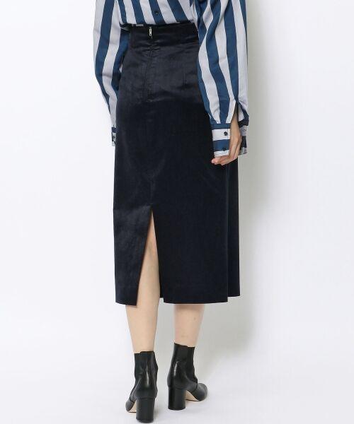 TOMORROWLAND / トゥモローランド ミニ・ひざ丈スカート | ベルベット タイトスカート | 詳細4