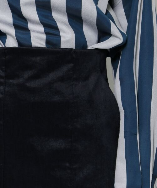 TOMORROWLAND / トゥモローランド ミニ・ひざ丈スカート | ベルベット タイトスカート | 詳細5