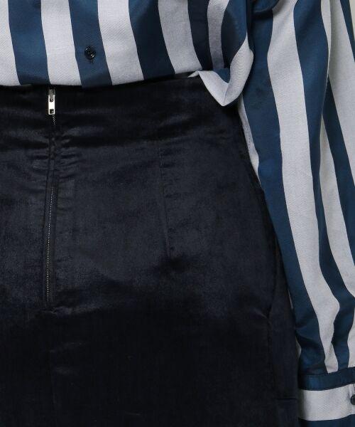TOMORROWLAND / トゥモローランド ミニ・ひざ丈スカート | ベルベット タイトスカート | 詳細6